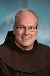 a picture of Br.  Basil Valente '84 O.F.M.