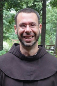 a picture of Fr. Erick Lopez O.F.M.