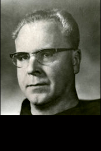 a picture of Rev.  Brian Duffy O.F.M. (1964--1970)