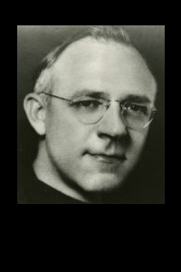 a picture of Rev. Cyprian Mensing O.F.M. (1937--1943)