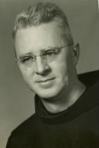 a picture of Rev.  Edmund F. Christy O.F.M. (1955--1964)
