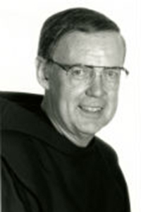 a picture of Rev.  Hugh  F. Hines O.F.M. (1976--1989)