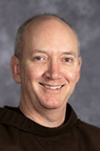 a picture of Fr. Mark G. Reamer O.F.M.
