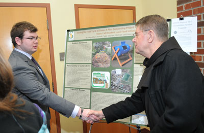 Environmental Studies and Sciences Students Create Campus
