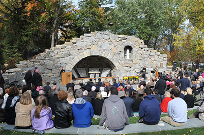 The Grotto at Siena College Opens With Beautiful Blessing ... on st. francis university campus map, salem international university campus map, siena college logo, loyola university new orleans campus map, stevens institute of technology campus map, clarke university campus map, saint lawrence university campus map, siena college staff, culinary institute of america campus map, southern wesleyan university campus map, siena college ryan hall, siena college graduation 2015, georgia institute of technology campus map, southwest minnesota state university campus map, austin peay state university campus map, fashion institute of technology campus map, siena college alumni, suny at buffalo campus map, siu school of medicine campus map, indiana university east campus map,