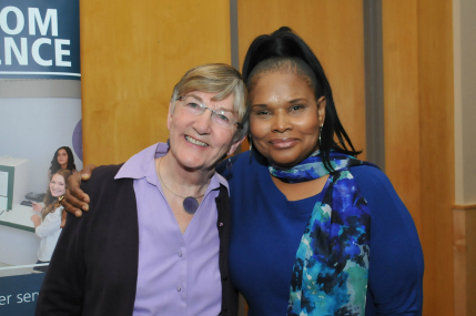 Gateley (L) and Myers-Powell (R). Click to view more photos from the event.