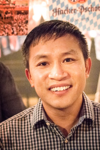 a picture of Fr. Linh N. Hoang O.F.M.
