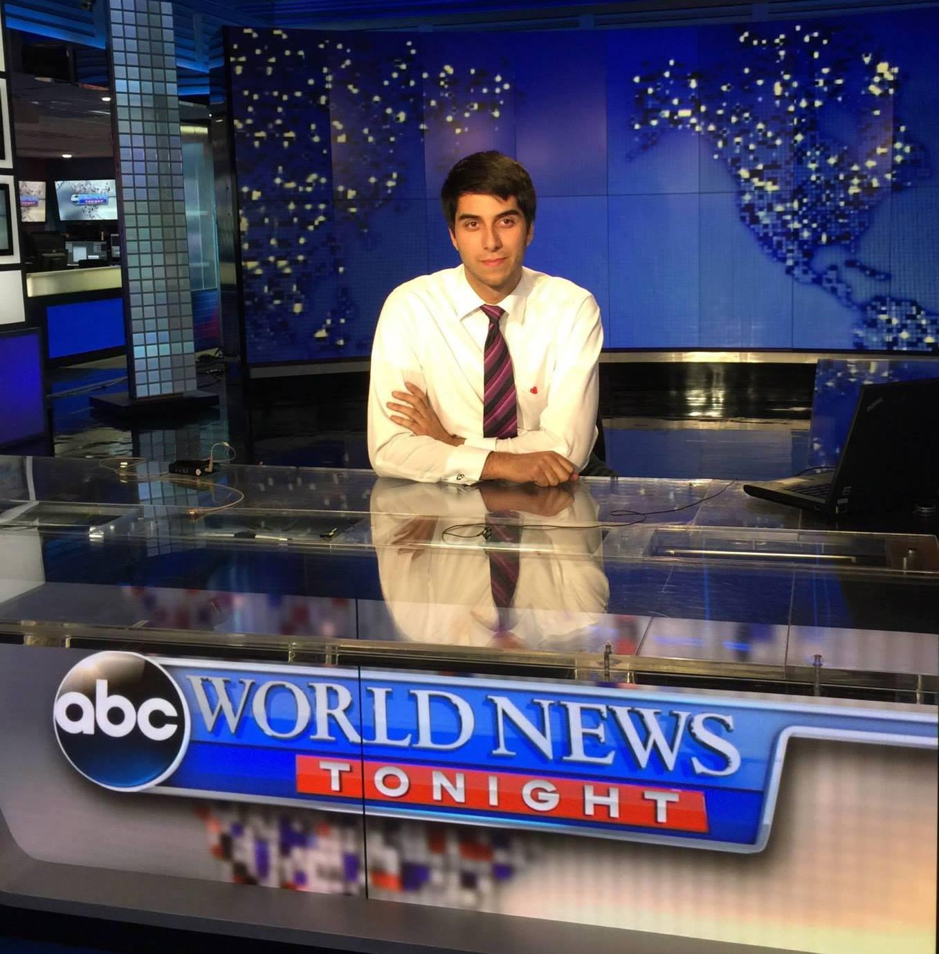 chris donato at news desk
