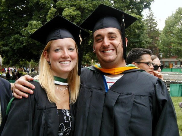 Justin and Amanda Clemenza'04 at Commencement