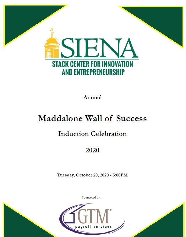 Maddalone Wall of Success program