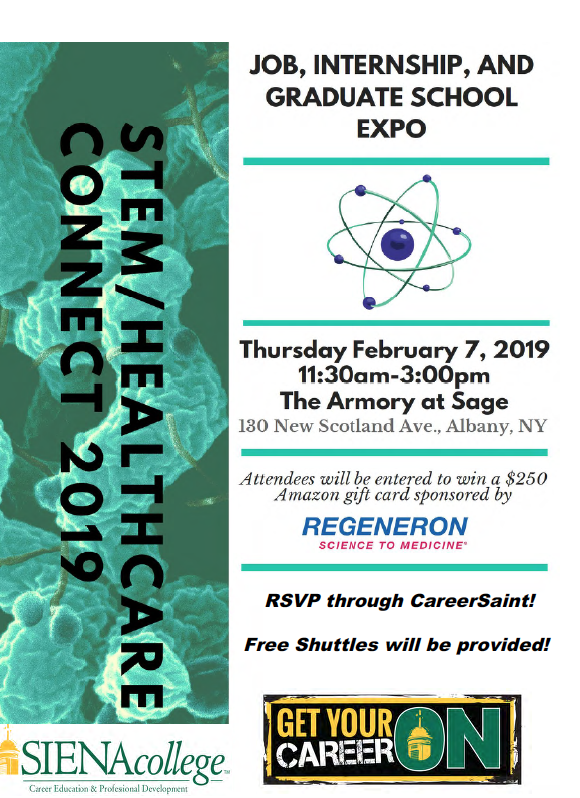 2019 STEM/Healthcare Connect Expo | Siena College